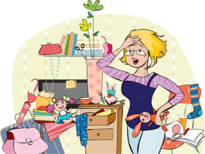 http://www.dreamstime.com/stock-image-mother-messy-room-vector-illustration-young-overhelmed-mom-trying-to-get-together-things-living-image35621641